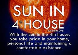 sun in 4th house meaning sun signs