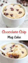 chocolate chip mug cake recipe food travel san diego and