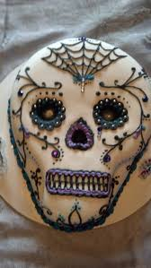Halloween Decorations Cakes Best 25 Sugar Skull Cakes Ideas Only On Pinterest Skull Cakes