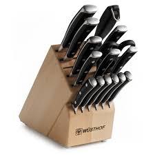 best kitchen knives block set wusthof ikon 16 kitchen knife block set 7816