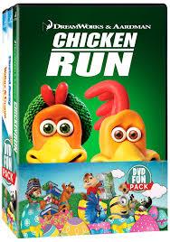 rabbit dvds chicken run flushed away wallace gromit curse of the were