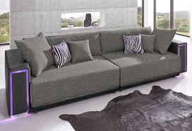sofa mit led beleuchtung big sofa inklusive rgb led beleuchtung kaufen otto