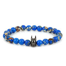 luxury men bracelet images Fashion luxury batman spacer bracelets men imperial tiger eye jpg