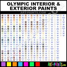 olympic interior exterior enamel paint colors olympic interior