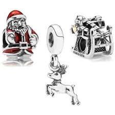 popular designs of pandora jewelry set here comes santa claus 2016