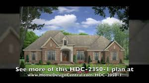 french country style house plans at home design central com youtube