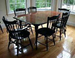 Maple Dining Room Table And Chairs Maple Dining Room Sets Colonial Furniture Table Tell City