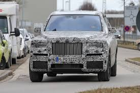 2018 rolls royce cullinan rolls royce cullinan suv spy shots with production front gtspirit