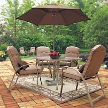 8 Piece Patio Dining Set Outdoor Dining Table Betterimprovement Com