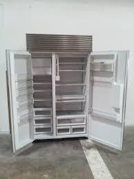 furniture exquisite double door steel refrigerator and sub zero