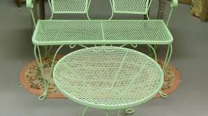 Retro Patio Furniture Sets Lovely Wrought Iron Outdoor Furniture Vintage Patio Of Retro Sets