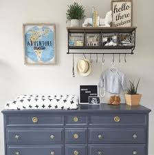 Nursery Dresser With Changing Table Dresser Top Changing Table Updated Turned Hometalk Tray