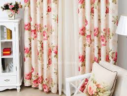 Better Homes And Garden Curtains Red Floral Curtains Curtains Orangered Floral Pattern Loading