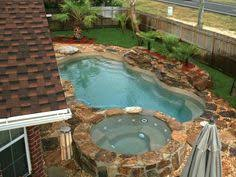 small pools and spas fiberglass pool with spa small pools pinterest galleries