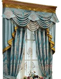 luxury window curtain blue king traditional curtains by ulinkly