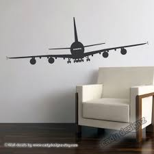 airplane wall decor stickers design ideas and decor