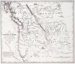 Map Of California And Oregon by Cartography Of Oregon 1507 1848
