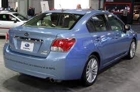 2012 subaru impreza information and photos zombiedrive