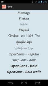 android fonts custom fonts sriram ramani