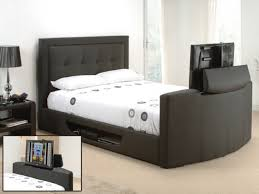 Bed Frame With Tv In Footboard Bed Frame With Tv In Footboard L20 About Lovely Inspiration