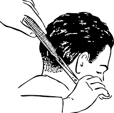 clipart shears and comb 2