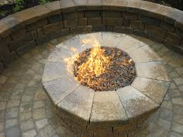 Round Stone Patio Table by Articles With Round Stone Fire Pit Table Tag Amazing Circular