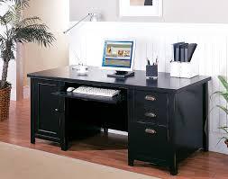 Computer Desks Black Impressive Black Wood Computer Desk Brilliant Computer Desk Black