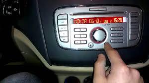 how to set up bluetooth on ford focus ford audio 6000 cd bluetooth kaydı silme