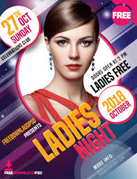 advertising template free ladies night party flyer free download freedownloadpsd com advertising templates psd announcement flyer design best flyer design birthday flyer design