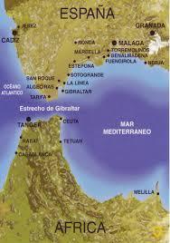 Bosporus Strait Map The World In Postcards Sabine U0027s Blog Map Of The Strait Of Gibraltar