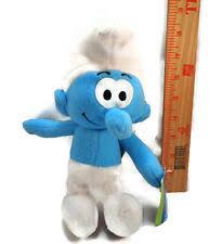 smurfs plush smurf clumsy soft toy stuffed animal teddy doll