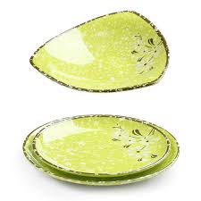 aliexpress buy thick green melamine dishes plates for