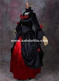 Southern Belle Halloween Costume Black Red Vampire Halloween Dresses Southern Belle Victorian