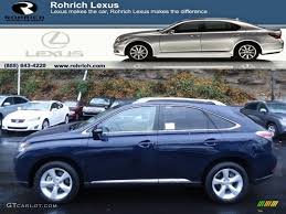 2013 lexus rx 350 interior colors 2013 sea blue mica lexus rx 350 awd 72867853 gtcarlot com