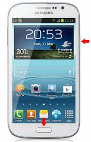 how to take a screenshot on a android how to take screenshot in galaxy grand duos i9082