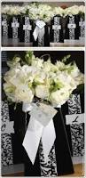black and white centerpieces ideas in blume
