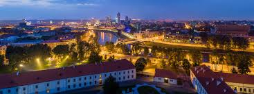 Google Map Europe by Google Map Of The City Of Vilnius Lithuania Nations Online Project