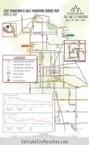 Salt Lake City Map Course Salt Lake City Marathon