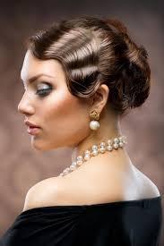 Frisuren Lange Haare Hochgesteckt by Hochsteckfrisur Im 20er Jahre Look Hochsteckfrisuren Für Lange