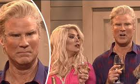 Seeking Will Ferrell Will Ferrell As A Tanned Reality On Snl Daily