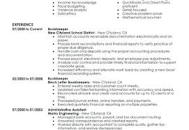 bookkeeper resume exles bookkeeper resume exles x sles australia getstolen