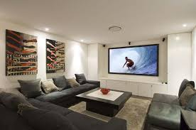 Home Theater Design Dallas Photo Of Nifty Home Theater Design - Home theater design dallas