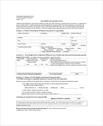 sample nursing assessment nursing physical assessment form