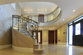 Glass Banisters For Stairs Elite Metalcraft Co Ltd Project Russell Close Marble Clad