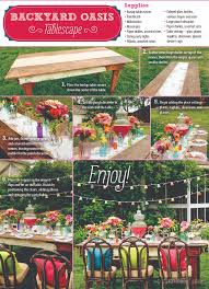 create a backyard oasis for your next outdoor party with this how
