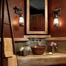 rustic bathrooms ideas stylish rustic bathroom lighting ideas best ideas about rustic