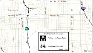 Balboa Park Map San Diego by Bicycle Parking In San Diego Southern California Regional Rocks
