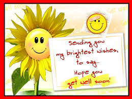 sending you my brightest wishes to say you get well soon graphic