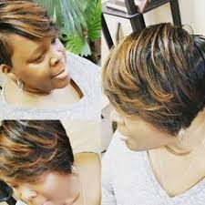 sew in hair salon columbus ga cut by marissa van de vusse at 501 salon experience in columbus