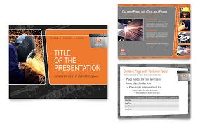 engineering presentation powerpoint template free professional